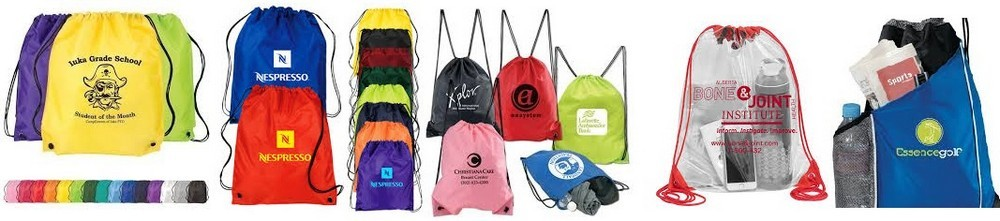 Customized Back Packs for Trade Show Giveaways